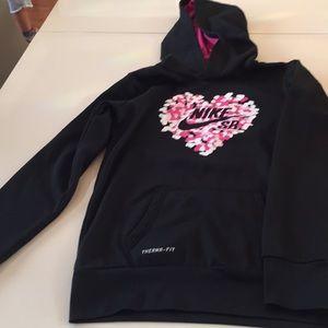 Nike girl's hoodie